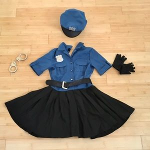 Girl Cop Costume